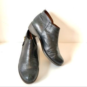 ERIC MICHAEL London Leather Ankle Booties—SZ. 9